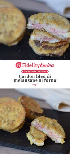 Cordon bleu di melanzane al forno