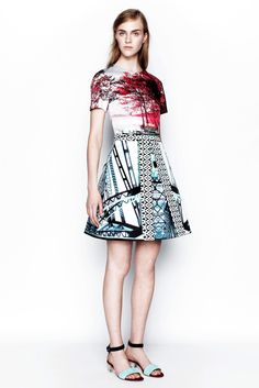 Mary Katrantzou Resort 2014 Fashion Show