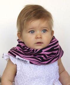 This Pink & Black Zebra Scabib by Scabib is perfect! #zulilyfinds