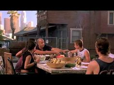Praying to the car's god Fast and Furious BBQ scene