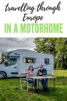Want to know more about what's involved in travelling through Europe in a campervan or motorhome? Check out this detailed article for costs, itineraries and more. European Road Trip, Road Trip Europe, European Travel, Road Trips, Motorhome Living, Motorhome Travels, Motorhome Fun, Rv Travel, Travel Guides