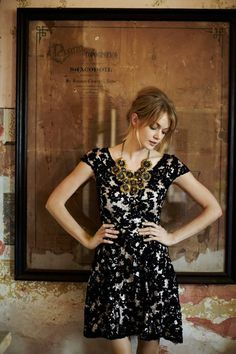 Anthropologie dress to die for