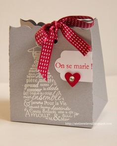 pochette invités, cadeau invités