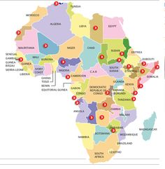 The separatist map of Africa: interactive When African states gained independence, the continent's new leaders agreed to respect the old colonial borders to avoid endless wars. But separatist movements still abound. Political Geography, Ap Human Geography, World Geography, African States, Teacher Problems, Political Organization, Africa Map, South Africa, Political Events