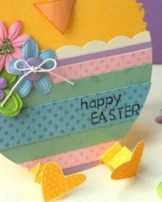 Chick in an Egg Easter Card (detail) Art Challenge, Hero Arts, Happy Sunday, Easter Crafts, Happy Easter, Cardmaking, Cherry Hill, Projects To Try, My Favorite Things