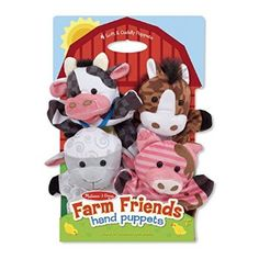 #Christmas More suggest Melissa & Doug Farm Friends Hand Puppets for Christmas Gifts Idea Store . How many times perhaps you have arrived at excellent measures to acquire your kids the very hot completely new Christmas Toys. Whenever you allow your chosen Christmas Toys for your baby, don't only...