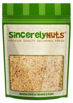 Sincerely Nuts Brazil Nut Flour Meal - Three (3) Lb. Bag - Exquisitely Flavorful - Bubbling with Nutritious Goodies - Fresh and Highly Versatile - 100% Kosher Certified! ** See this great product.