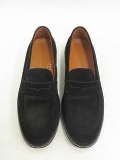 Tod's Driver-Sole Penny Loafer Black Suede Size 8 Barely Worn #Tods #LoafersMoccasins