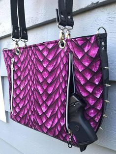 Concealed Carry Purse Sewing Pattern Cc Iris Bag Pdf Purses