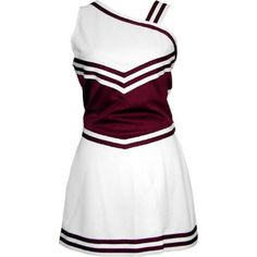 this would be cute for my high school cheerleading uniform. just with a tiger paw print on the right sleeve and on the bottom of the skirt. Dance Team Uniforms, Cheerleading Uniforms, School Cheerleading, Cheer Uniforms, School Uniforms, Cheer Outfits, Dance Outfits, Cool Outfits, Cheers