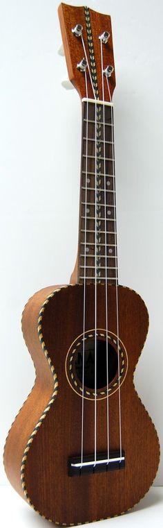 "Ohana's new ""Vintage"" inspired SK28 #LardysUkuleleOfTheDay ~ https://www.pinterest.com/lardyfatboy/lardys-ukulele-of-the-day/ ~"