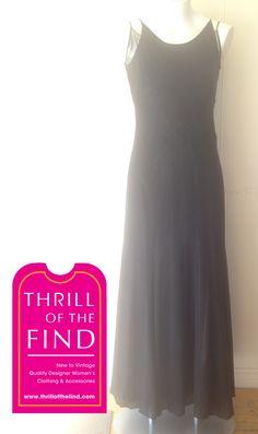 #thrilloftheday #thrillofthefind #pleinsudlove #formaldress #blackdress #pleinsud Thrill of the Day June 8, 2015 Plein Sud Formal dress size 38 Visit Thrill of the Find at 1172 Queen St E, Toronto, ON (416) 461-9313 info@thrillofthefind.com
