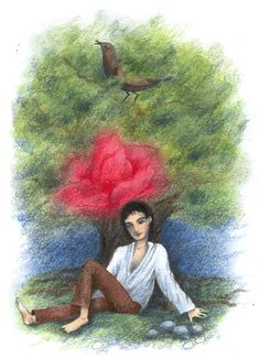 Hipster Illustration, Carol Ann Duffy, Rose Trees, Sing To Me, The Day Will Come, She Song, Nightingale, He's Beautiful, Oscar Wilde
