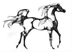 Image result for arabian horse head vector