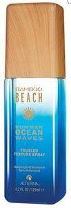 10 Beauty Products to Instantly Boost Your Mood: ALTERNA Haircare Bamboo Beach Summer Ocean Waves Tousled Texture Spray Hair Beach Waves, Beachy Waves, Ocean Waves, Boho Waves, Summer Waves, Summer Fun, Texturizing Spray, Summer Beauty, Fragrance