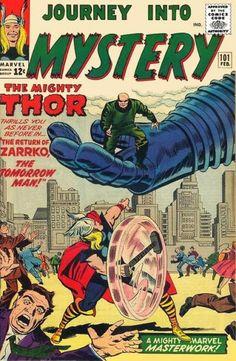 Journey Into Mystery #101. Thor vs Zarrko.