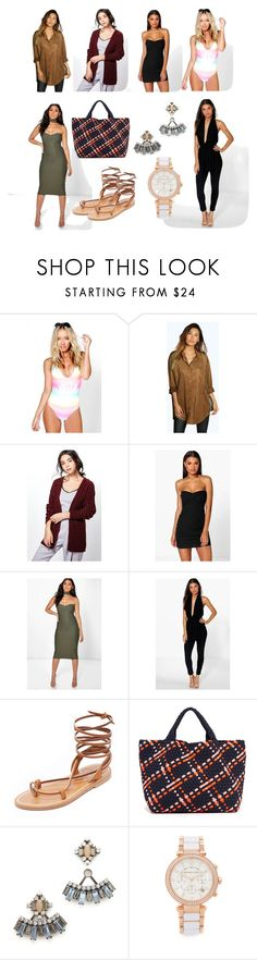 """""""Hot deals"""" by cate-jennifer ❤ liked on Polyvore featuring Boohoo, K. Jacques, Naghedi, DANNIJO, Michael Kors and vintage"""