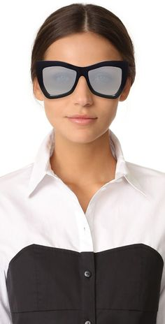 Le Specs Kick It Sunglasses | SHOPBOP