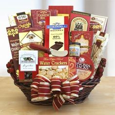 Corporate Thank You Gift Basket.  See more at www.pro-gift-baskets.com!
