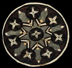 Siapo mamanu (tapa cloth)  Gift of Mrs Miller, 1960