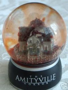 The Amityville Horror Snow Globe...this is so cool!