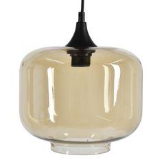 Carin S hade hittat denna som lampförslag // Torp taklampa - Champangefärgat glas