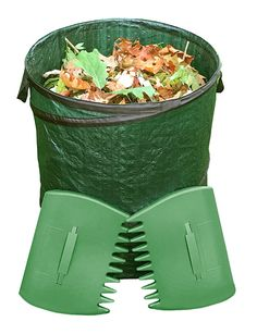 Garden Bag W Leaf Grabbers Heavy Duty Collapsible Yard Includes One And A Pair Of If You Haven T Tried Set These Yet