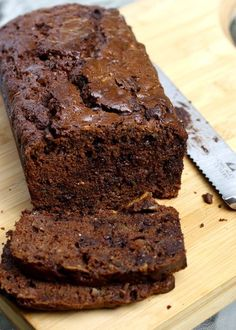 Double Chocolate Zucchini Bread - Use coconut oil in place of the vegetable oil!.