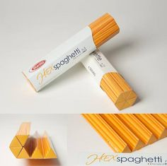 Barilla packaging design concept by Nick Chung. Nice #pasta #packaging PD- Pasta met portiegrootte.