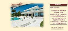 AND644 Costa del sol. Marbella.  Chalets, villas, apartamentos y adosados en venta.