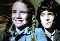 Siblings Truly Do Make The Best Friends as shown by Laura and Albert Ingalls Laura Ingalls, House Cast, House 2, Michael Landon, Ingalls Family, Melissa Gilbert, Popular Tv Series, Best Shows Ever, My Boyfriend
