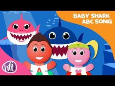 Baby Shark Alphabet Song by Have Fun Teaching Alphabet Video, Alphabet Songs, Abc Songs, Alphabet Activities, Abc Song For Kids, Kids Songs, Have Fun Teaching, Kids Learning, Preschool Music Lessons