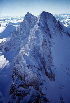 Sierra Velluda y el Volcan Antuco