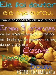 #Cosme #Damião #Doum