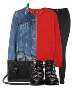 """""""Untitled #1420"""" by morggz ❤ liked on Polyvore featuring Topshop, Isabel Marant, Yves Saint Laurent and Givenchy"""