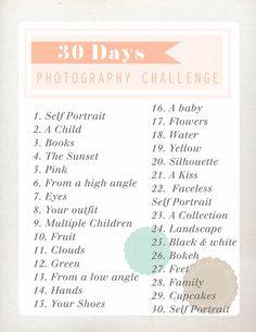 I Love Rosemary Watson: Photography Challenge: Day 1