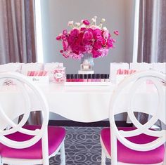 Pink nail bar, bridal shower, perfect shower idea,  Aliana Events, Celios Design, photo by: Melody Melikian, So glam! Featured on: www.loveluxelife.com #weloveluxelife