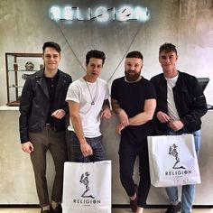 Don Broco stopped by the Religion Shoreditch store
