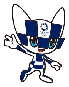 Olympic Icons, Olympic Logo, Olympic Mascots, Olympic Games, Japan Olympics 2020, Math Cartoons, Primary School Art, Tokyo 2020, Camping Crafts