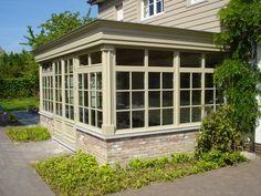 Orangerie in Hout met lak > Cottage | Bogarden