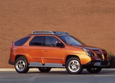 The Pontiac Aztek's design is consistently mentioned in ugliest cars lists