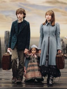 A Series of Unfortunate Events. I really liked the books and this movie. I wish they had made more movies based on the books.