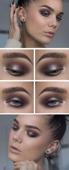 Det kommer tutorial på den här! Jag har använt/I've used Too faced shadow insurance Anastasia Maya mia...