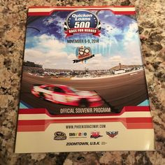 Phoenix International Raceway Quicken Loans 500 November 6-9, 2014 Program