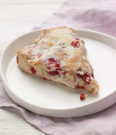 Chobani Strawberry Greek Yogurt Scones