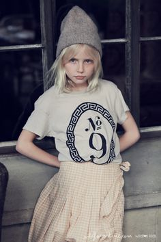 Wildfox for Kids (model: Violet Hume, daughter of model Kirsty Hume and Donovan Leitch)