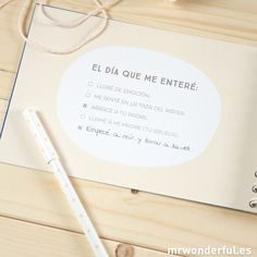 Álbum Mr.Wonderful nueve meses y mil aventuras