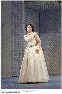 Soprano Diana Damrau as Constanze in Mozart's Abduction From the Seralgio.