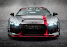 World Premiere - Audi R8 LMS GT4 at New York Auto Show - http://trackworthy.com/world-premiere-audi-r8-lms-gt4/