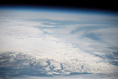 Southern Greenland. From NASA Earth Observatory